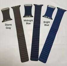 Original Apple watch band 42mm/44mm Lederarmband mit Schlaufe - M - Mehrfarbig