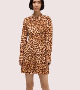 Kate Spade panthera shirtdress