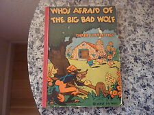 Who's Afraid of The Big Bad Wolf by Walt Disney. 1st ed in pictorial wrappers