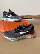 "Nike Epic React Flyknit (GS) ""Gunsmoke/White-Black"" UK 4 4.5Y"