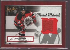 BRIAN GIONTA 2005-06 BEEHIVE MATERIALS GAME USED WORN JERSEY PATCH SP $12