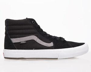 VANS BMX Sk8-Hi Men's Black Grey White Riding Casual Lifestyle Sneakers Shoes