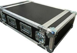 Ultrasonics 4u Rack Flight Case 500mm Deep