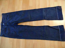 GIRBAUD coole Chino Schlag Jeans mit Cord Materialmix Gr. 38 TOP TH316