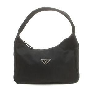 Prada Hand Bag  Black Nylon 2405133