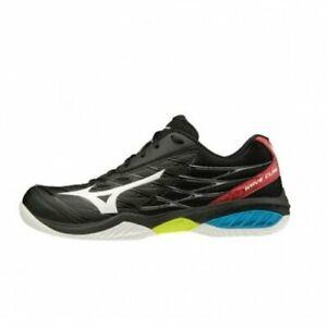 Mizuno Wave Claw Unisex's Badminton Shoes Black x White  71GA191509 20D