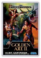 Golden Axe 2 Fridge Magnet. Cover Art. Megadrive Retro Gaming