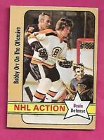 1972-73 OPC # 58 BRUINS BOBBY ORR ACTION  GOOD CARD (INV# C4701)