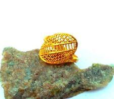 Wedding Finger Ring Unisex Fashion Jewelry South Indian Ethnic 22K Gold Plated 5