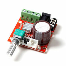 DC 12V Mini Amplifier Board 10W + 10W Class D Amplifier Mini Audio Amp Board