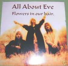 """All About Eve Flowers In Our Hair 7"""" (45) *Unplayed* EVEN4"""