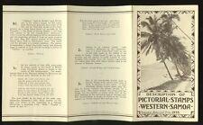 WESTERN SAMOA 1935 PICTORIALS LEAFLET INFORMATION
