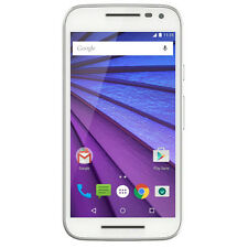"Motorola Moto G Turbo 3rd Gen XT1557 White (FACTORY UNLOCKED) Dual sim 5.0"" 13MP"
