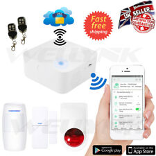 WIRELESS SECURITY WIFI SMART AUTODIAL SMS HOME HOUSE BURGLAR INTRUDER ALARM