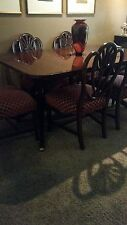 Antique Duncan Phyfe Style Dining Room Set. Must See! Excellent Condition!