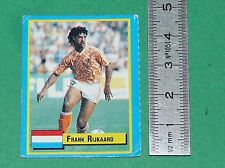 RIJKAARD NEDERLAND CALCIO MILAN AC FOOTBALL 1989-1990 VALLARDI MINI CARD PANINI