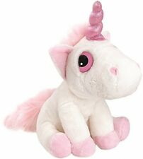 Suki Gifts Mystical Little Peepers Bella Unicorn Soft Boa Plush Toy (White and