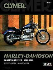 Harley Davidson Sportster 883 XL1100 1200 1986-2003 Clymer Manual M4295