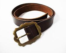 Vintage Womens Leather Belt Brown