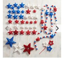 Pier 1 Patriotic Decor Kit 4th of July America Holiday party decorations New