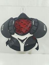 Stx Pd Spcx 03 Bk/Xx Cell X Lacrosse Shoulder (No Bicep) Pads Large Black White