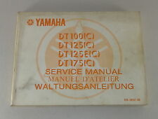 Workshop Manual/Workshop Manual Yamaha Dt 100 / Dt 125 / Dt 175 ab Ca. 1974