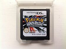 Pokemon Platinum Version Edition Nintendo DS DSi NDS Lite Role Playing Game RPG