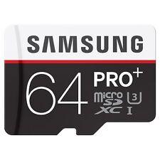 Samsung PRO+ MB-MD64DA (64GB) MicroSDXC Class 10 UHS-I Memory Card with SD