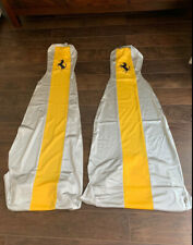 FERRARI F40 FACTORY WORKSHOP SERVICE SEAT COVERS NEW AND UNUSED