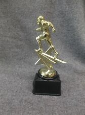 Football star trophy runner block base