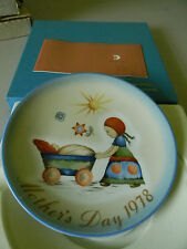 """""""Afternoon Stroll"""" Schmid Collector Plate-1978- Seventh Limited Edition"""