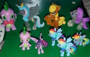 My Little Pony Mini Figures Lot Of 9