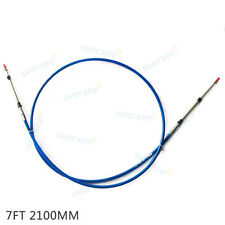 Throttle Shift Cable, Remote Control Box Cable 7 Ft For Yamaha Tohatsu Outboard