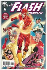 The Flash Rebirth #6 DC Comics 2009 VF+