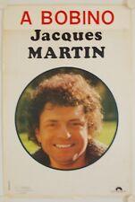 Affiche Théâtre Bobino JACQUES MARTIN Années '70