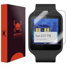 Skinomi Protector de Pantalla Transparente Piel para Sony Smartwatch 3 (6-PAK)