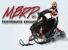 MBRP Trail Series Exhaust - Yamaha 4 Stroke - '14-16 (333T805)