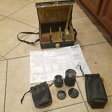 Soligor 35-70mm f 2.5 3.5 Manual Focus MC Macro Zoom Auto Wide MC C/D Lens Lot