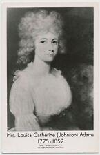 Mrs. Louisa Catherine Johnson Adams, wife of John Quincy Adams RPPC