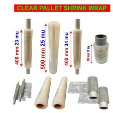 More details for  clear pallet stretch shrink wrap cast parcel packing cling film strong cheap