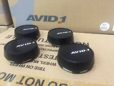 4PC AVID.1 WHEEL CENTER CAP Avid.1 AV-20 RIM CAPS (4) NIB AV-20 Replacement Caps
