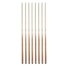 Valley Billiards House Bar Pool Table Cue Sticks - Set of 8