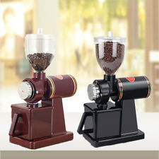 220V 100W Electric Conical Espresso Coffee Bean Grinder Coarse Fine Grinding