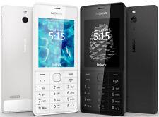 Nokia 515 Dual SIM Original Unlocked Simple Mobile Phone -Black