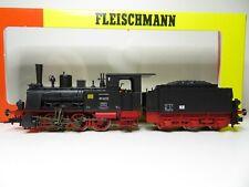 217HO - Fleischmann 411501 k - Dampflok BR 89 6222 schwarz DR - top in OVP