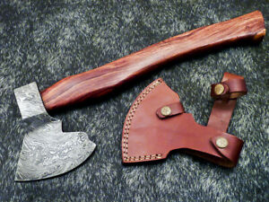 """New Beautiful Handmade Damascus Steel AXE """"UNIQUE AXE"""" Limited Edition WD-9472"""