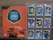 PANINI road to World Cup 2018 WM 18 * complete Set * Empty album