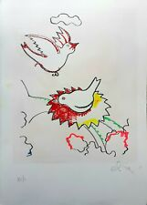 Luca Alinari - Lithography Coloured by Hand, Numbered & Signed