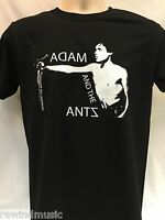 MENS ADAM AND THE ANTS ADAM ANT  T SHIRT PUNK FRUIT OF THE LOOM