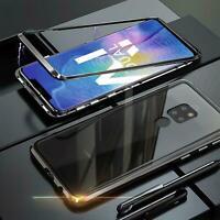 Hülle Magnet für Huawei Mate 20 Schutzhülle Glas Handy Tasche Panzer Case Cover